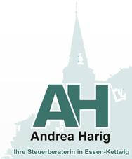 Logo Steuerberaterin Andrea Harig
